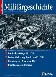 Die Balkankriege 1912/13 Erster Weltkrieg: Die 2. und 3. OHL ...
