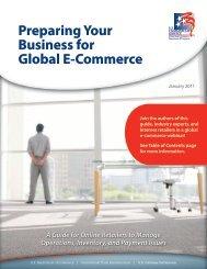 Preparing Your Business for Global E-Commerce - Export.gov