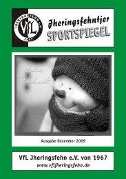 Heft 2009 12.cdr - VfL Jheringsfehn