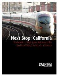 Next Stop: California - US PIRG