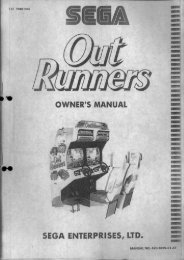 Owners Manual - The International Arcade Museum