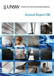Annual Report 08 - School of Civil and Environmental Engineering ...