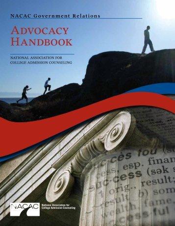 2010 Advocacy Handbook - nacac