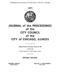 Communications From City Officer - Chicago City Council Document ...
