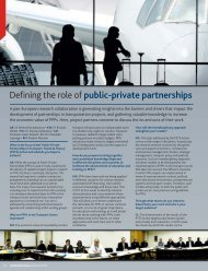 Innovation Journal Issue - Public Private Partnerships in Transport