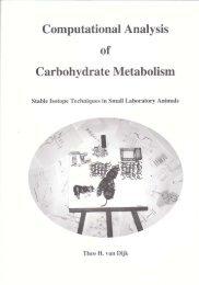 Computational Analysis of Carbohydrate Metabolism - TI Pharma