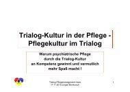 Trialog Kultur J. Bombosch - Bildungswerk Irsee