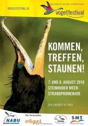 KOMMEN, TREFFEN, STAUNEN! - vogelfestival