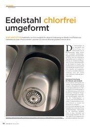 Edelstahl chlorfrei umgeformt - Georg Oest Mineralölwerk GmbH ...