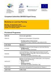 Seminar programme - UNECE