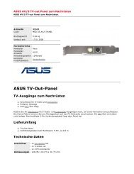 ASUS Tv-Out-Panel