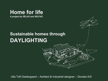 Home for life DAYLIGHTING - The Daylight Site
