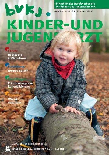 Forum - kinder- und jugendarzt