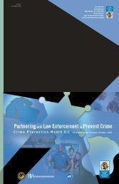 Crime Prevention Month Kit 2006-2007 - National Crime Prevention ...