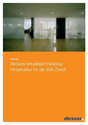 Fallstudie Clientvirtualisierung SVA - Abraxas