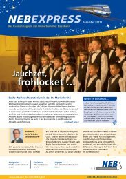NEB-Express Dezember 2011