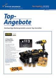 Top-Angebote 01/2012 - Steyr-Werner