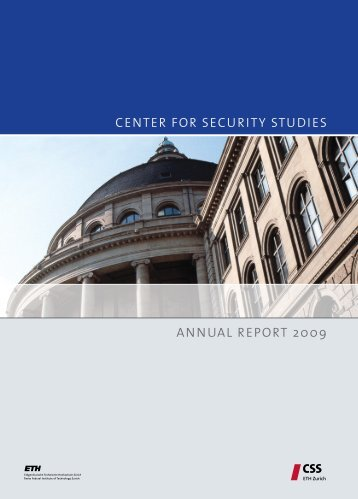 Center for Security Studies (CSS) - ETH Zürich