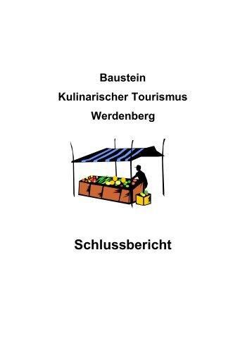 Kulinarischer Tourismus - Region Werdenberg
