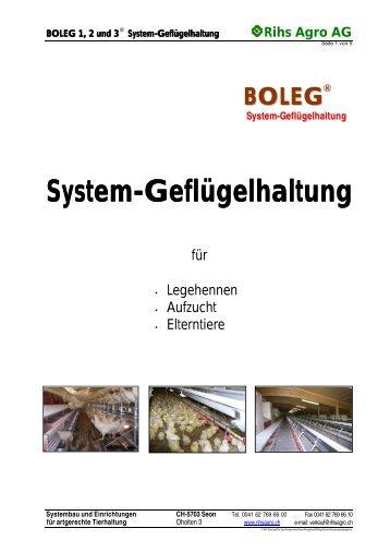 System-Geflügelhaltung Geflügelhaltung