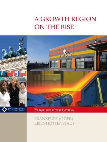 a growth region on the rise - World Trade Center - Frankfurt(Oder)