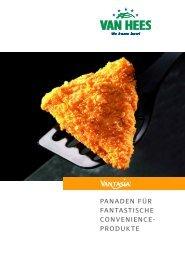 panaden für fantastische convenience- produkte - Van Hees gmbh