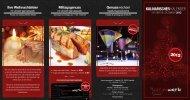 Kulinarischer Kalender - Vincent genusswerk