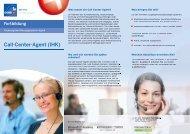 Call-Center-Agent (IHK) - Bfz-Essen GmbH