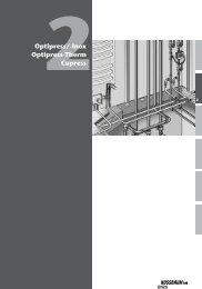 2Optipress/-Inox Optipress-Therm Cupress - R. Nussbaum AG