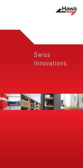 Swiss Innovations an der Bau 2013 - hawa.ch