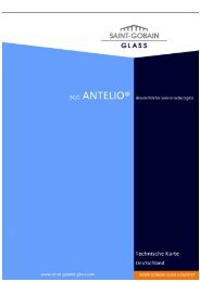 SGG ANTELIO - Saint-Gobain Glass