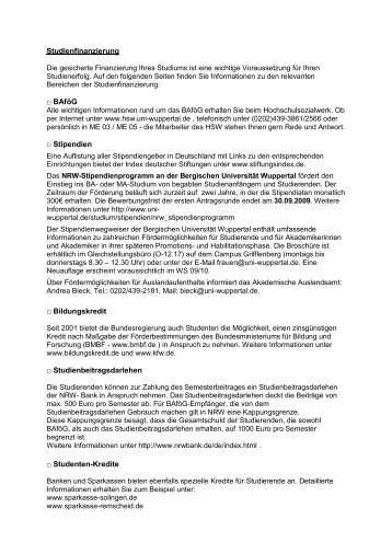 Sp10.pdf - Bergische Universität Wuppertal