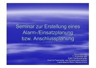 Alarm und Einsatzplanung der Gemeinde - Rhein-Neckar-Kreis