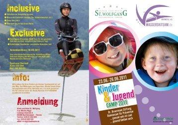 Kinder &Jugend - St. Wolfgang
