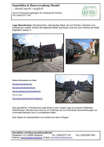Obernkirchen Expose 2 - Immobilien und Hausverwaltung Mendel