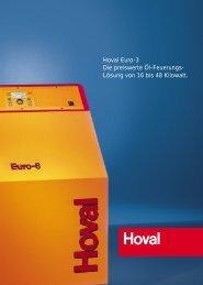 Hoval Euro-3 Die preiswerte Öl-Feuerungs- Lösung von 16 bis 48 ...
