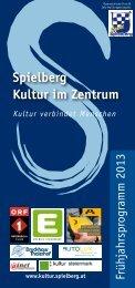 zum Folder - KULTUR IM ZENTRUM - Gemeinde Spielberg