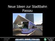 Neue Ideen zur Stadtbahn Passau - VCD Bayern