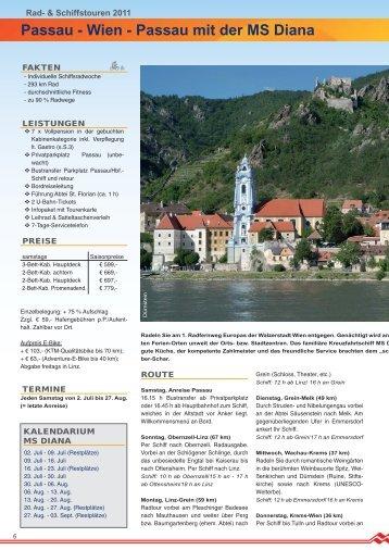 Passau mit der MS Diana - Donau Touristik