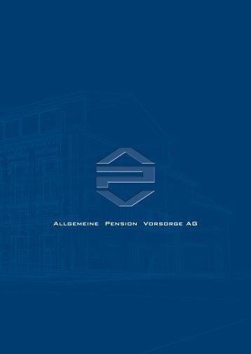 Allgemeine Pension Vorsorge AG - Apv-Pension