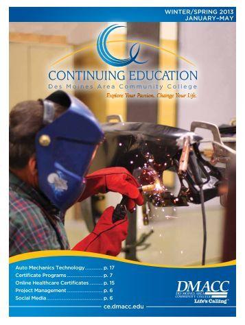 WinTer/SPring 2013 - Campus Websites - Des Moines Area ...