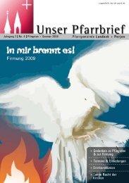 + Gedanken zu Pfingsten & zur Firmung + Termine - Pfarren Landeck