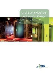 Große Veränderungen beginnen im Kleinen - Otis Elevator Company