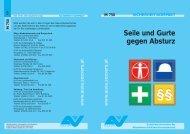 Seile und Gurte gegen Absturz - Industrial Alpinists Vienna