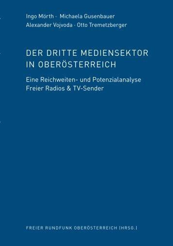 Der Dritte Mediensektor in Oberösterreich - Eine ... - Radio FRO