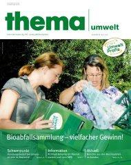Thema Umwelt 9. Ausgabe 06-2010 - Umweltprofis