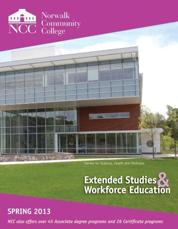 Extended Studies Class Schedule - Norwalk Community College