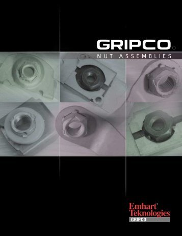Gripco Nut Assemblies - Interstate Screw Corporation