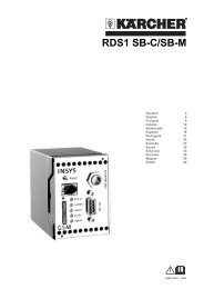 RDS1 SB-C/SB-M - Karcher