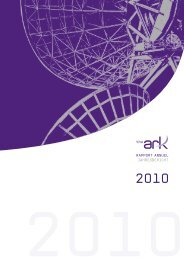 RAPPORT ANNUEL JAHRESBERICHT - The Ark